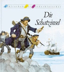 die Schatzinsel, robert louis stevenson, kinderbuch-klassiker