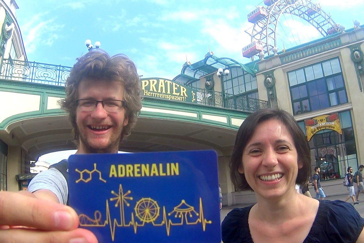 Check dir 1×2 Adrenalincards bei unserem Prater-Gewinnspiel