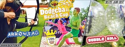 beat em sportival, beat em, sportival, beat em sportival, dodgeball, dodgeball beach cup, podersdorf, neusiedler see, arrowtag, bubble soccer