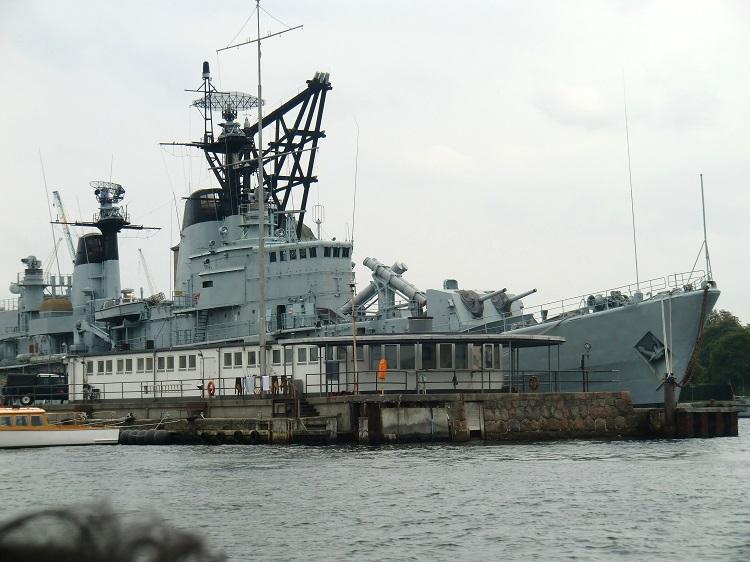 kopenhagen, kriegsschiff