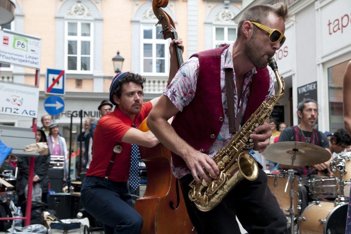 Pflasterspektakel Linz: So genial wird das Straßenkunst-Festival 2017