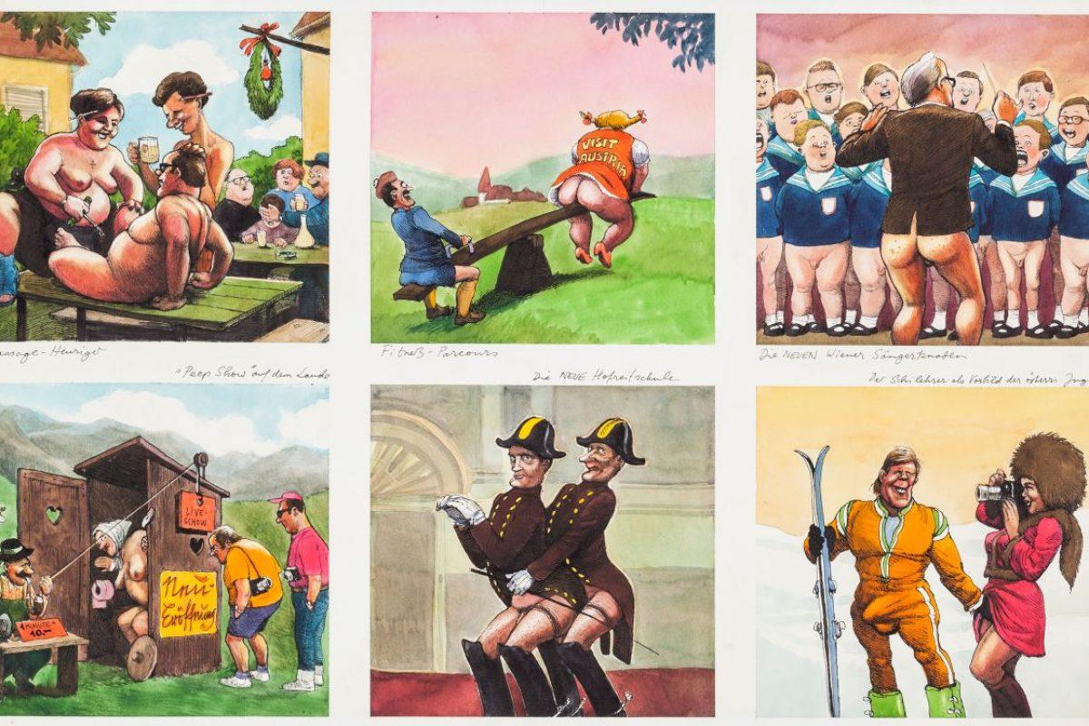 Todestag von Zeichner Manfred Deix: Provokation als Kunst
