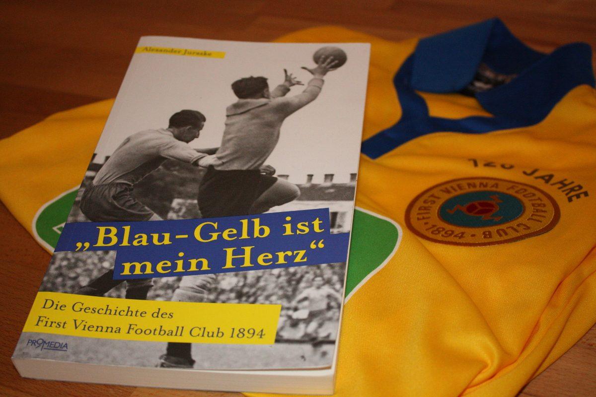 Blau-Gelb ist mein Herz – die bewegte Geschichte der Vienna als Buch