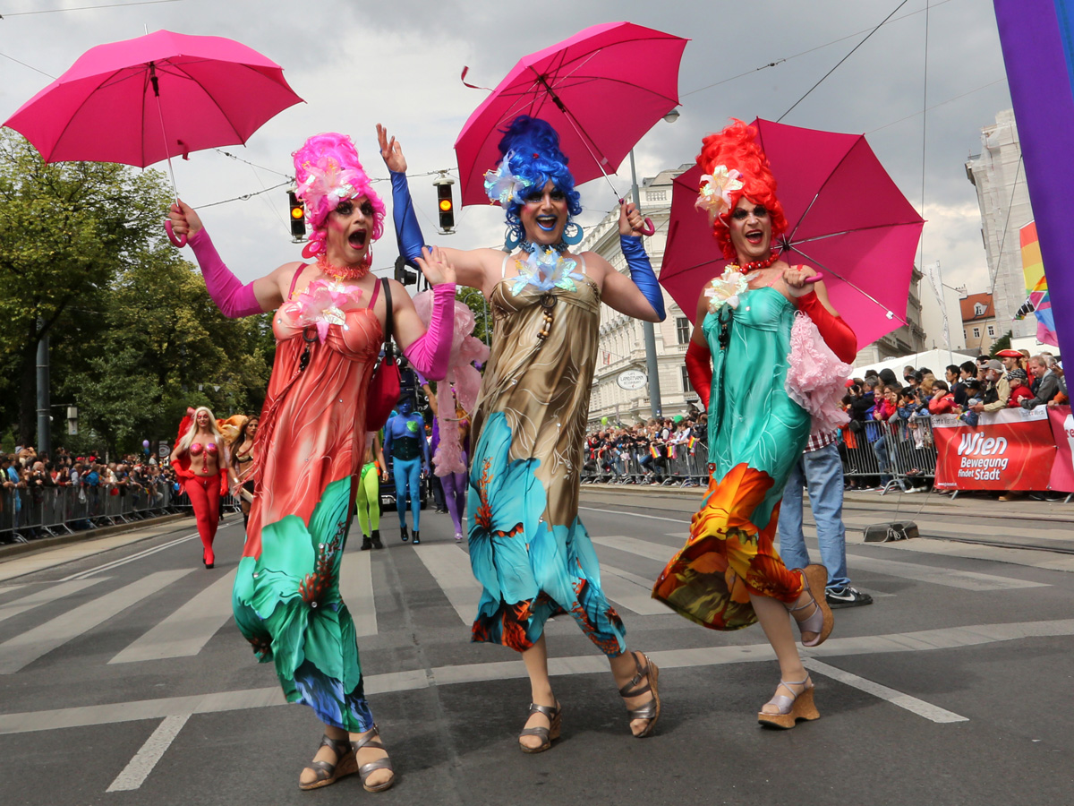 Bildergebnis für gay pride wien 2018