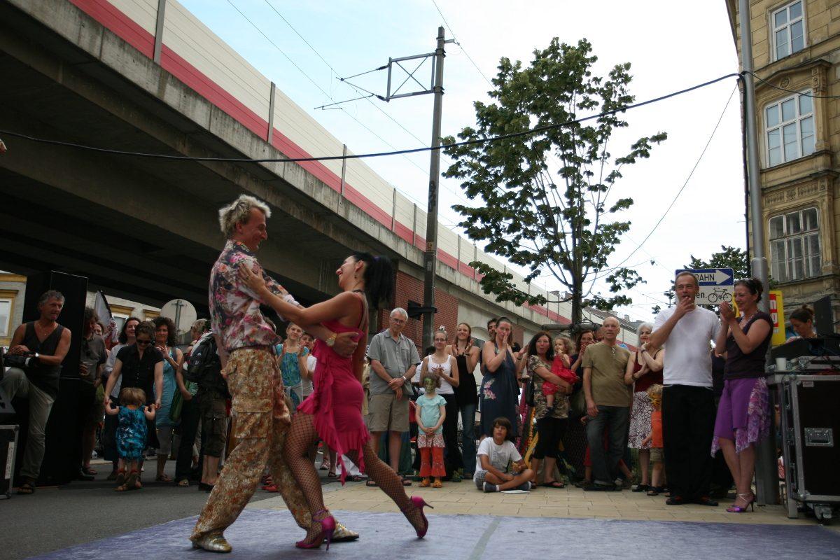Wien ist doch ein Dorf! Das Weißgerber Straßenfest