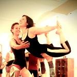 acroyoga, fliegen, yoga, akrobatik