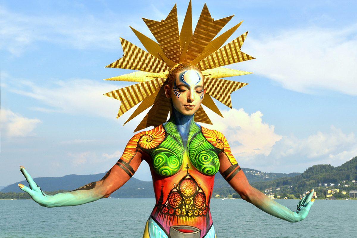 Das World Bodypainting Festival feiert 20 Jahre Körperkunst!