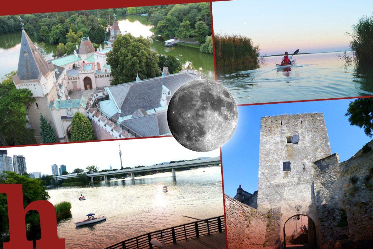 Wildromantisch! 5 Ausflugstipps für die Vollmond-Nacht