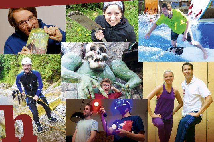 1 Jahr Helden der Freizeit: 365 Tage Abenteuer