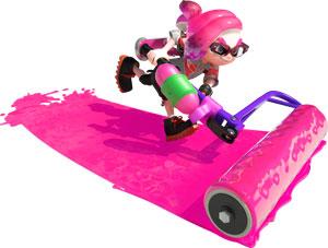 nintendo switch, esports, splatoon 2, switch, nintendo, inkling, charaktere, pink