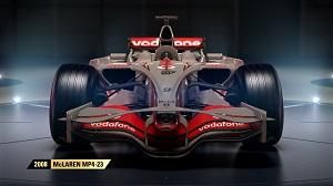 f1 2017, formel 1, alte autos, spiel, autos, codemasters, mclaren, mp 4/23, 2008