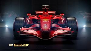 f1 2017, formel 1, alte autos, spiel, autos, codemasters, ferrari, f2007, raikkönen