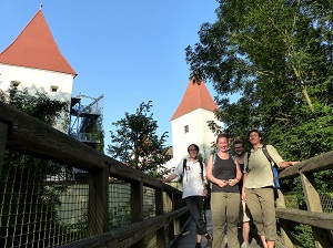 schloss orth, nationalparkzentrum, start, tour, wanderung, nationalpark, donau-auen