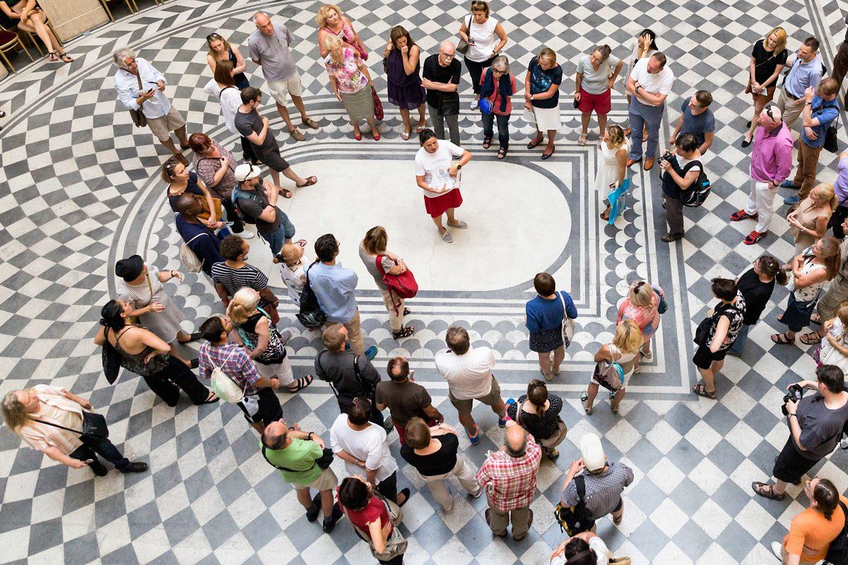 Blick hinter verschlossene Türen: Das Open House Wien 2017