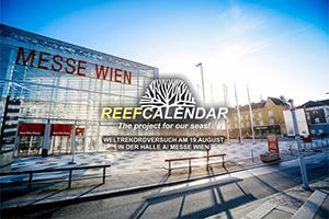 Reefcalendar, Weltrekord, Weltrekordversuch, Meere, Bodypainting, Messe Wien, wien