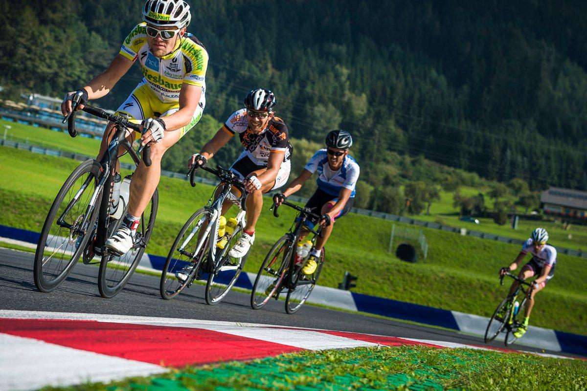 Ring Rad'ln 2017: Mit dem Fahrrad auf der Formel-1-Strecke