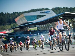 Fahrrad, Familie, formel 1 strecke, red bull ring, radfahren, ring radln, ring rad'ln, radeln, spielberg