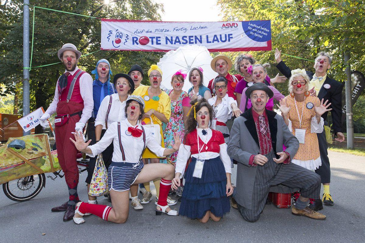Laufen, Lachen, Gutes tun: Der ROTE NASEN LAUF in Wien