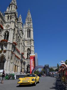 Vienna Classic Days, Wien, Oldtimerrallye, Parade, Rathaus