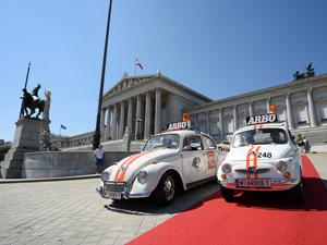 Vienna Classic Days, Wien, Oldtimer, Parade, Parlament, Wettbewerb, ARBÖ