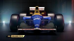 f1 2017, formel 1, alte autos, spiel, autos, codemasters 1992, williams fw14b
