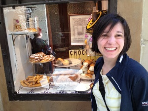 Barcelona, Essen, lokaltipps, Süßes, Süßspeisen, Granja Dulcinea, Cafe, Schokolade