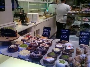 Barcelona, Essen, tipps, Chök, Schokolade, Auslage, Süßspeisen