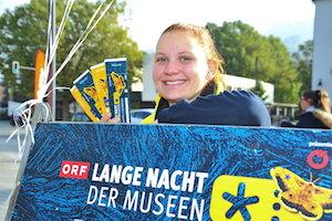 tickets, lange nacht der museen, frau, event, treffpunkt museum