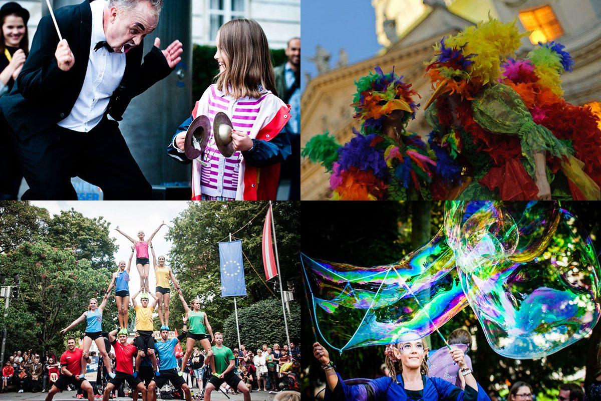 Buskers Festival 2017 – 3 Tage bunte Straßenkunst am Karlsplatz