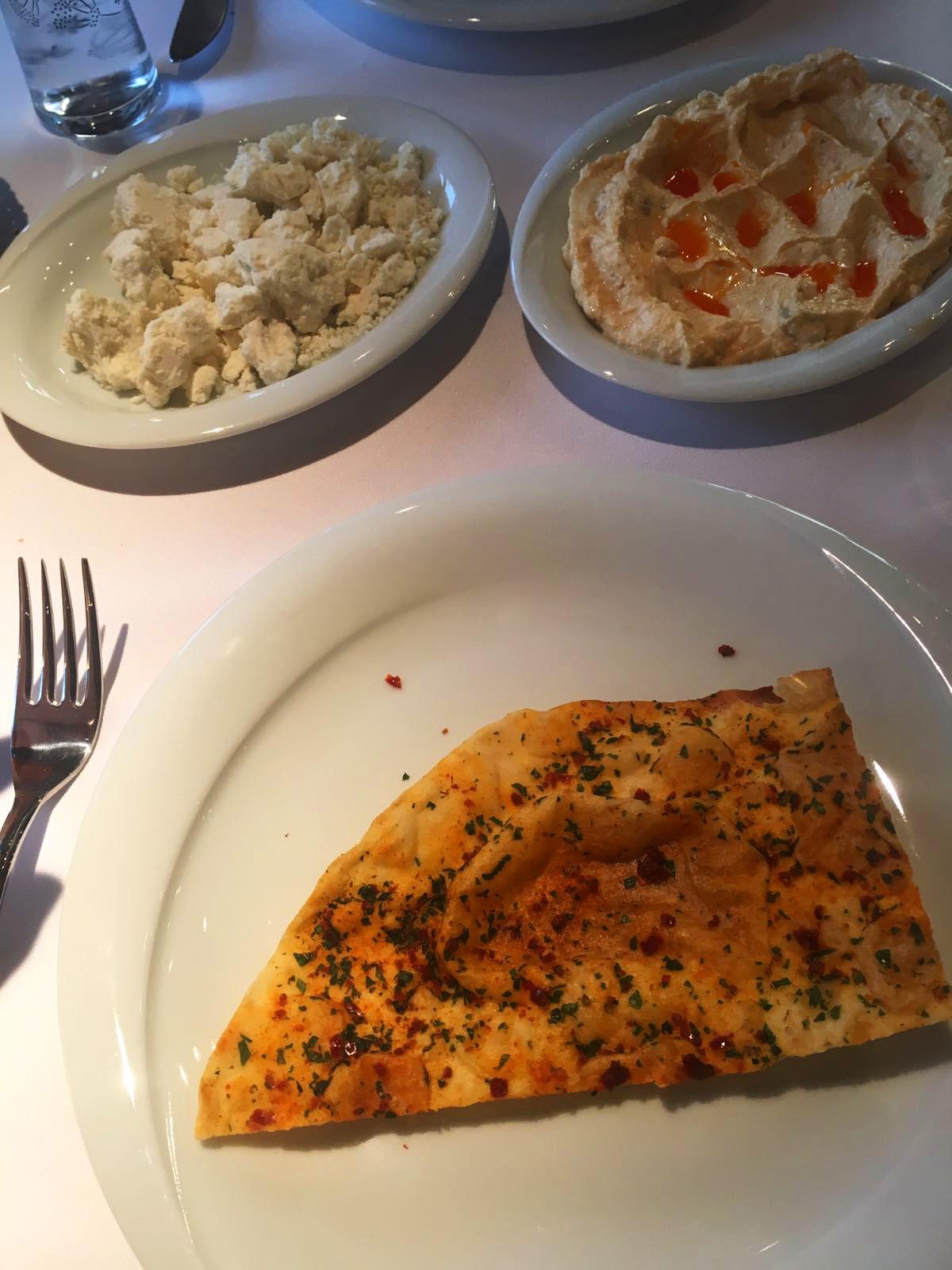 Istanbul, Essen, Restaurant, Tipps, Mezze, Brot
