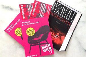 BUCH WIEN – gewinnt 2 Festivalpässe & ein Buch von Robert Harris