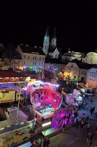 leopoldifest, rathausplatz klosterneuburg, leopoldimarkt, vergnügungspark, rummel