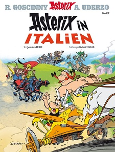 cover, asterix in italien, asterix, obelix, idefix, neuer band, cover