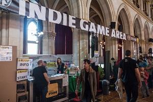 game city, indie games, indie game area, aussteller