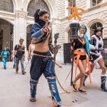 game city 2017, cosplay, rathaus, wien, game-messe