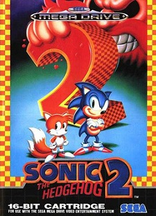 sonic 2, sonic the hedgehog 2, sonic, tails, hülle, cover, test, retro, klassiker, mega drive