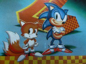 sonic 2, sonic the hedgehog 2, sonic, tails, hülle, test, retro, klassiker, mega drive