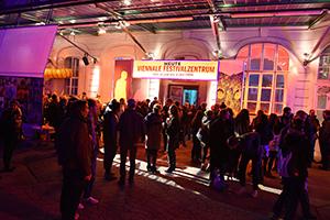 viennale, festival, festivalzentrum, eröffnungsparty, filmfestival