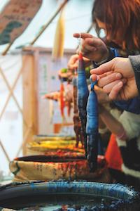 kerzen ziehen, sternenwerkstatt, bio, christkindlmarkt, karlsplatz, art advent
