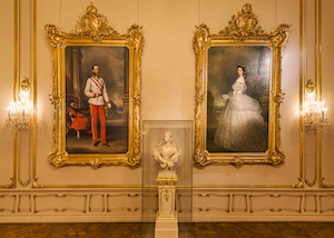 portrait, kaiserin, elisabeth, kaiser franz joseph, hofburg, wien, sisi museum