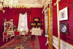 turnzimmer, toilettezimmer, kaiserappartement, elisabeth, sisi, sisi museum, hofburg