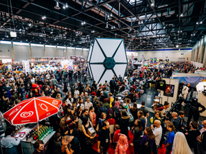 Vienna Comic Con, Tie Fighter, Messe Wien, Halle, eSports, League of Legends