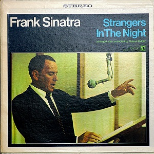 frank sinatra, strangers in the night, cover, platte, sänger