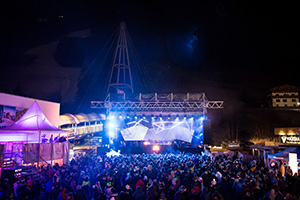 rave on snow, festival, saalbach, rave, open air, stage, djs, acts, 2017