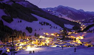 rave on snow, festival, saalbach hinterglemm, nacht