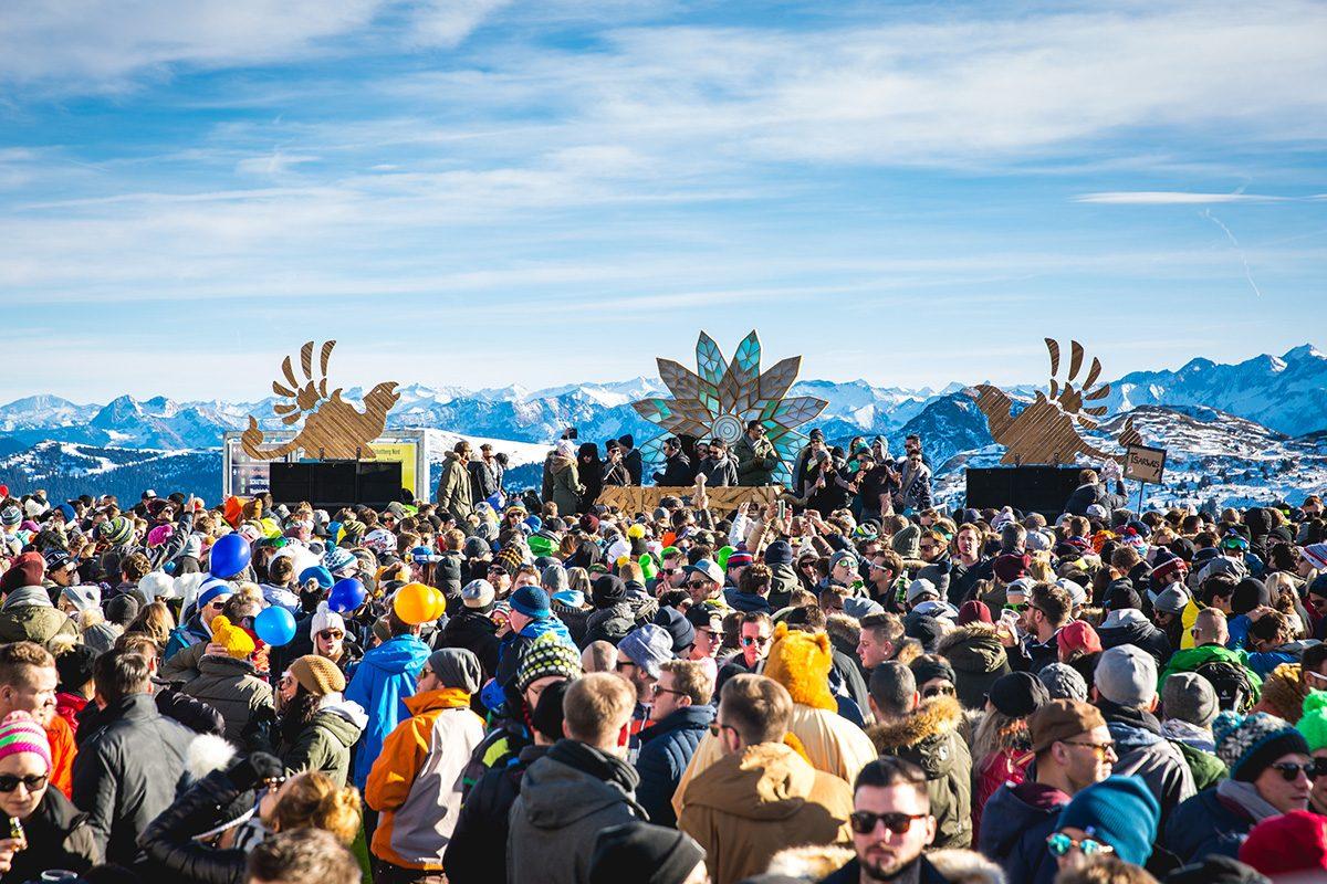Rave on Snow Festival in Saalbach: Heiße Musik bei Minusgraden