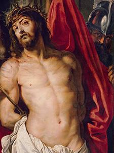 Rubens Ausstellung, Wien, Kunsthistorisches Museum, Ecce Homo, Plakatsujet, Rubens