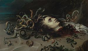 Rubens, Ausstellung, Kunsthistorisches Museum, Haupt der Medusa, Medusa