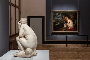 Rubens, Ausstellung, Kunsthistorisches Museum, Skulptur, Ausstellungsansicht, frauen