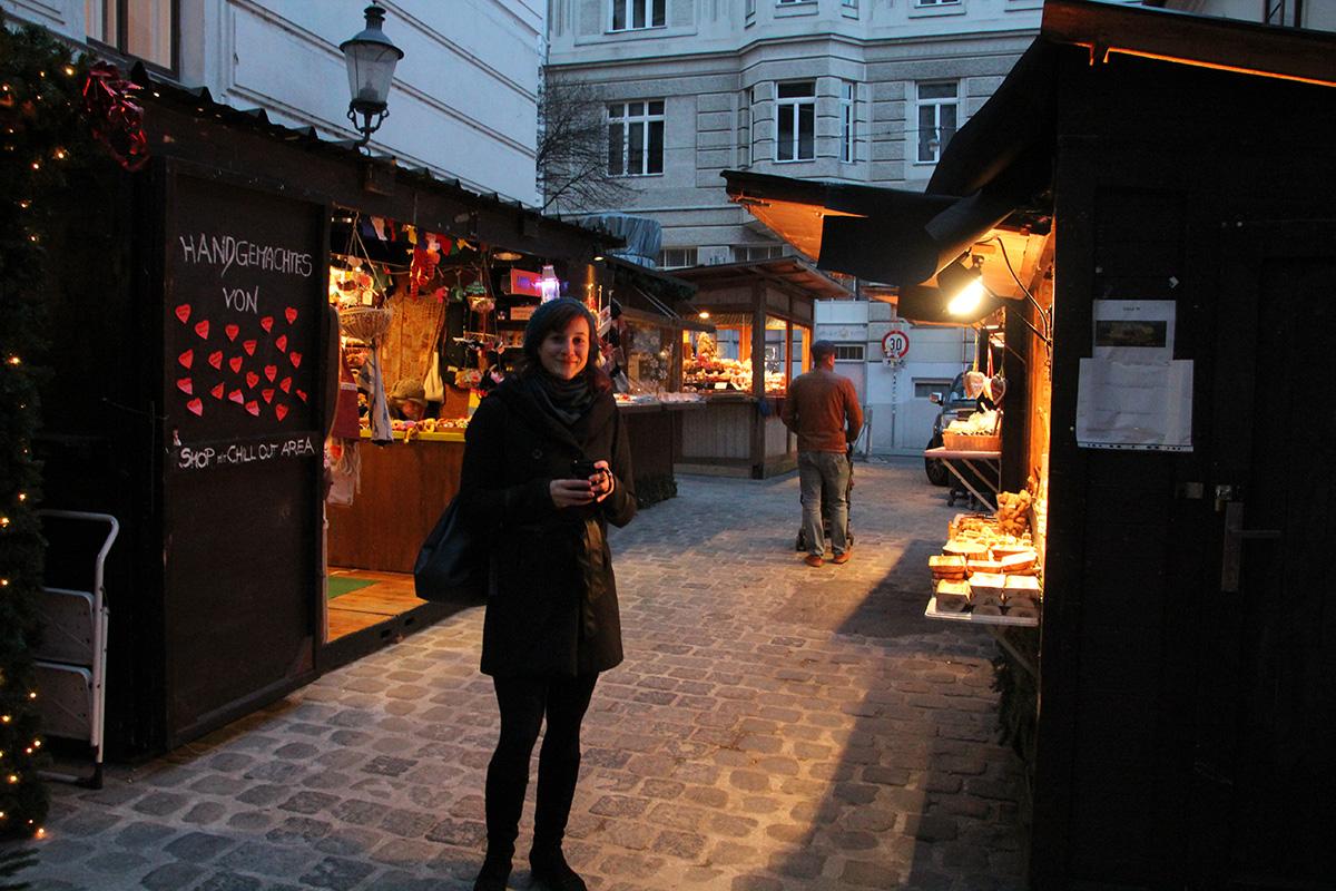 weihnachtsmarkt am spittelberg, christkindlmarkt, punsch, stände